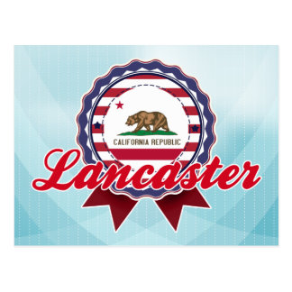 Lancaster, CA Postcard