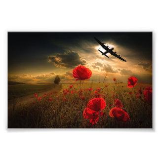 Lancaster Flypast Photo Print