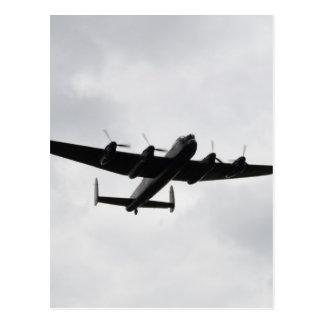 Lancaster Heavy Bomber Postcard