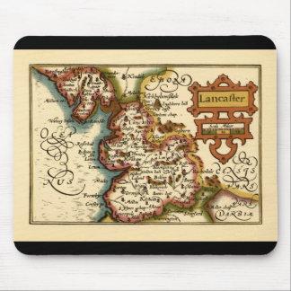 """""""Lancaster"""" Lancashire County Map Mouse Mats"""