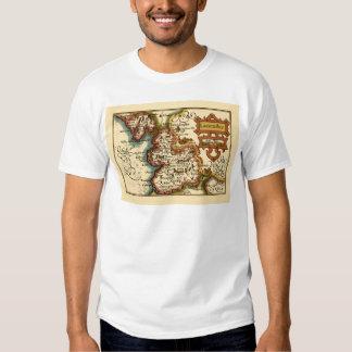 """Lancaster"" Lancashire County Map Tee Shirts"