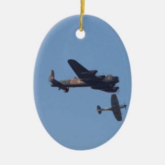 Lancaster Spitfire Hurricane Christmas Ornament
