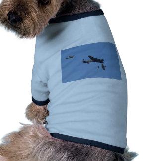 Lancaster Spitfire Hurricane Doggie T-shirt