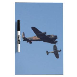 Lancaster Spitfire Hurricane Dry Erase Whiteboard