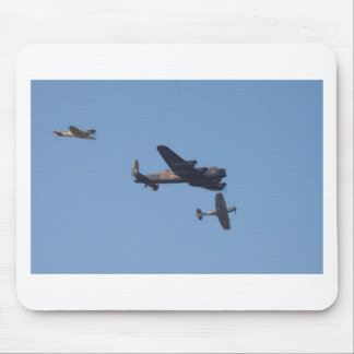 Lancaster Spitfire Hurricane Mousemat