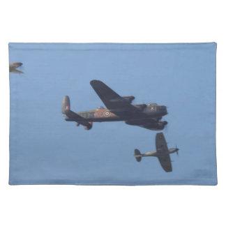 Lancaster Spitfire Hurricane Place Mats