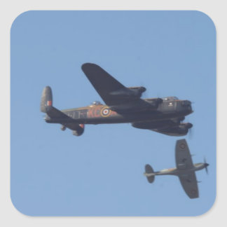 Lancaster Spitfire Hurricane Sticker