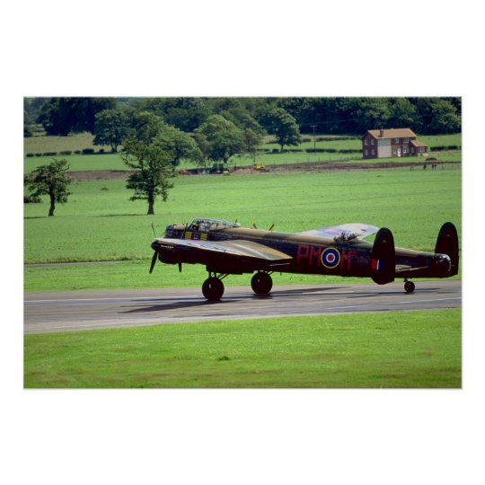 Lancaster, Woodford Air Show 1990, England Poster