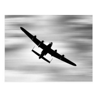LancasterBomber. Postcard
