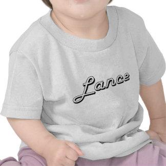 Lance Classic Retro Name Design T Shirt