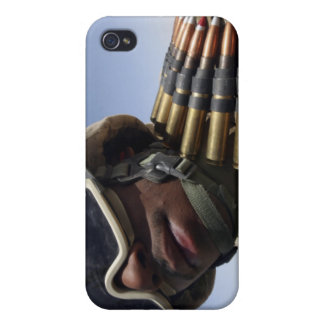 Lance Corporal waits for his turn iPhone 4 Cases