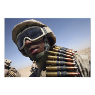 Lance Corporal waits for his turn Photo Art