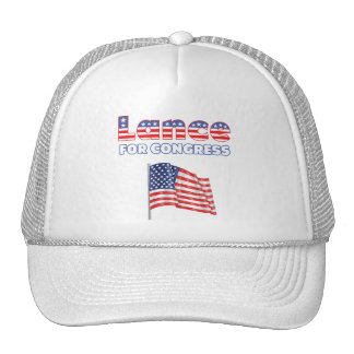 Lance for Congress Patriotic American Flag Hats
