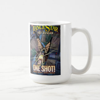 "Lance Star: Sky Ranger ""One Shot"" Basic White Mug"