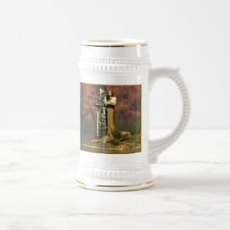 Lancelot and Guinevere 18 Oz Beer Stein