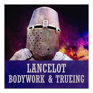 Lancelot - Bodywork & trueing Photo Print