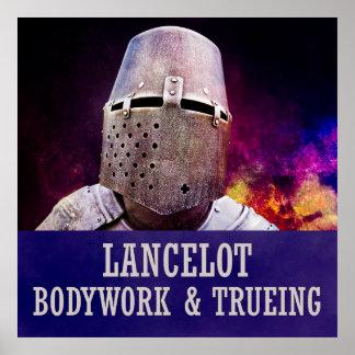 Lancelot - Bodywork & trueing Poster