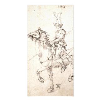 Lancer on Horseback by Albrecht Durer Photo Cards