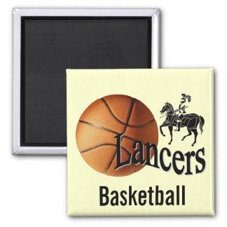 Lancers Basketball Magnet