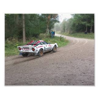 Lancia Stratos print Photographic Print