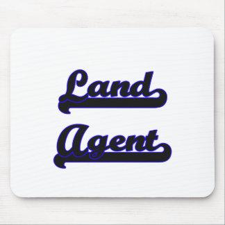 Land Agent Classic Job Design Mouse Pad