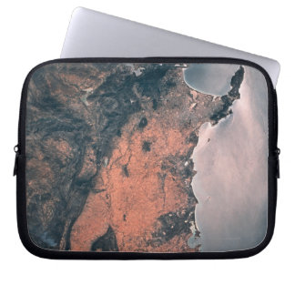 Land and Sea from Space 3 Laptop Sleeve