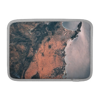 Land and Sea from Space 3 MacBook Sleeve