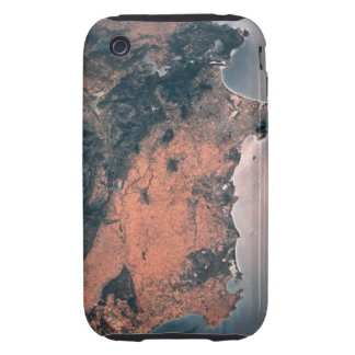 Land and Sea from Space 3 Tough iPhone 3 Cover