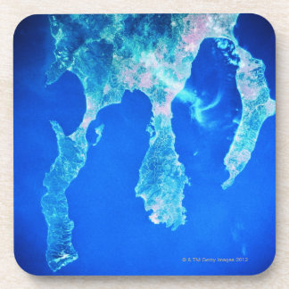 Land and Sea from Space Drink Coasters
