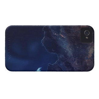 Land and Water from Satellite Case-Mate iPhone 4 Case