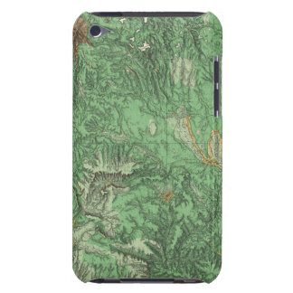 Land Classification Map of California iPod Case-Mate Cases