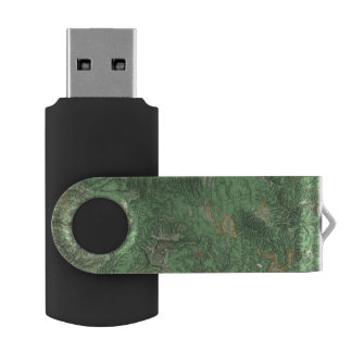 Land Classification Map of California USB Flash Drive