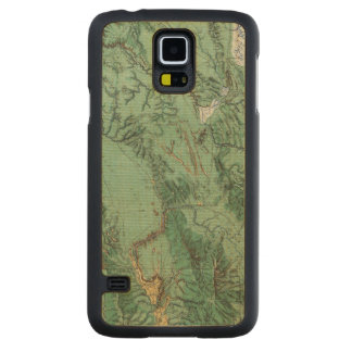 Land Classification Map of Idaho Carved Maple Galaxy S5 Case