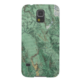 Land Classification Map of Idaho Galaxy S5 Cases