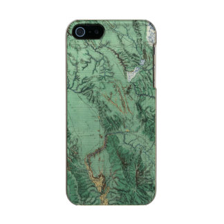 Land Classification Map of Idaho Incipio Feather® Shine iPhone 5 Case