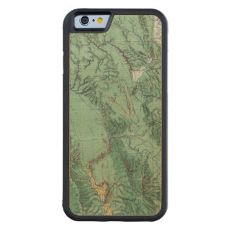 Land Classification Map of Idaho Maple iPhone 6 Bumper Case