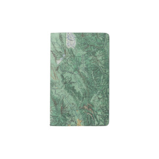 Land Classification Map of Idaho Pocket Moleskine Notebook