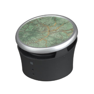 Land Classification Map of New Mexico 2 Bluetooth Speaker