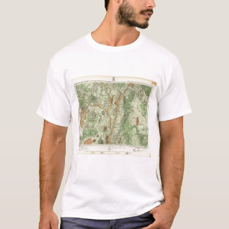 Land Classification Map of New Mexico 2 T-Shirt