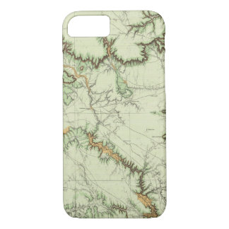 Land Classification Map of New Mexico iPhone 8/7 Case