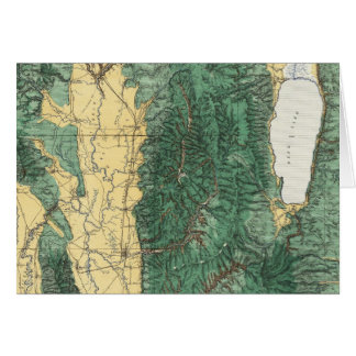 Land Classification Map of North Eastern Utah Card