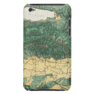 Land Classification Map of North Eastern Utah iPod Touch Cover