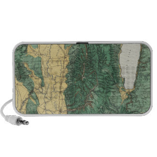 Land Classification Map of North Eastern Utah Laptop Speaker