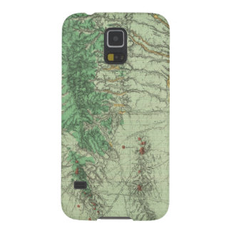 Land Classification Map of Southwestern New Mexico Galaxy S5 Cases