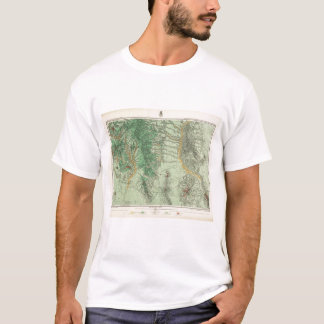 Land Classification Map of Southwestern New Mexico T-Shirt