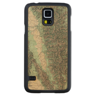 Land Classification of Eastern California Carved Maple Galaxy S5 Case
