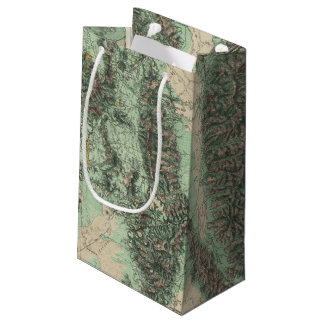 Land Classification of Eastern California Small Gift Bag