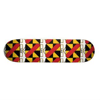 Land Family Crest Skateboard Deck