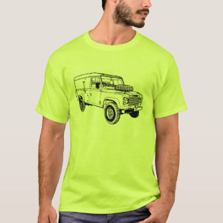 Land Landy Rover Defender Car Vintage Hiking Duck T-Shirt