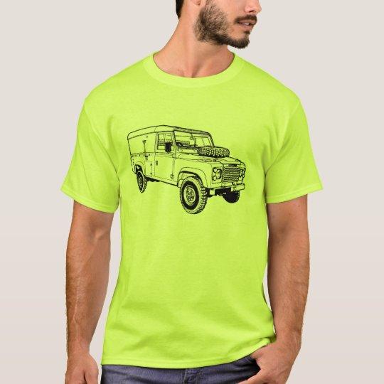 Land Landy Rover Defender Car Vintage Hiking Duck
